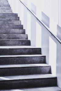 stairs-grayscale